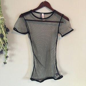 Tops - Victoria's Secret mesh top